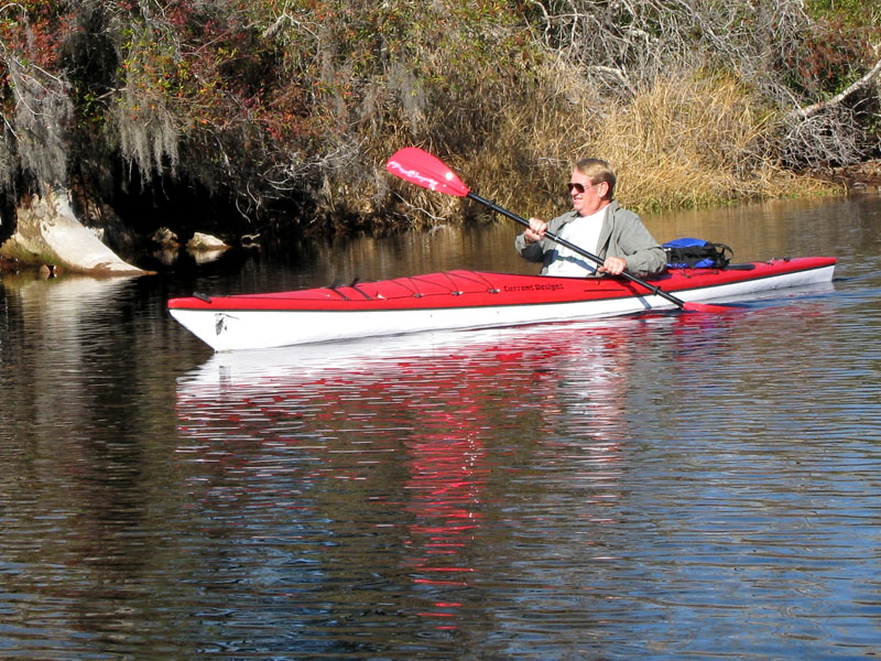Thermoplastic Kayak Red